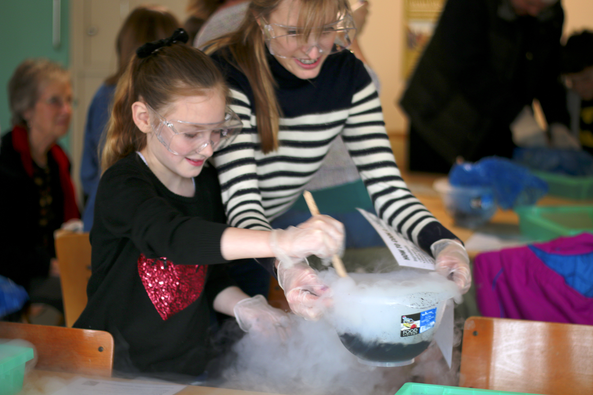 Comet Workshop at Birling Gap Visitor Centre for the National Trust