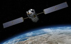 Earth orbiting satellite