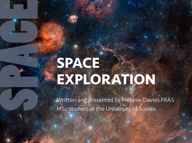 slide from space exploration talk