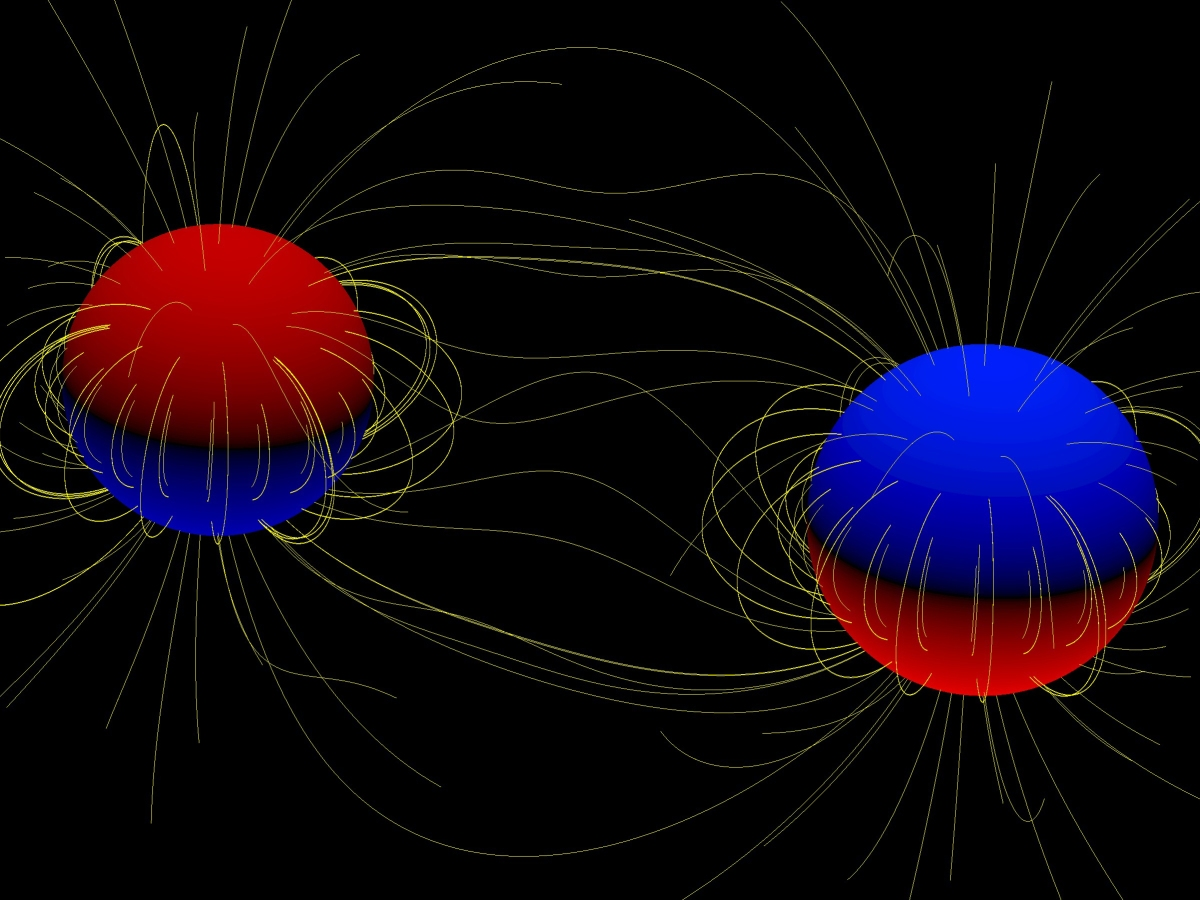 Magnetic binary stars