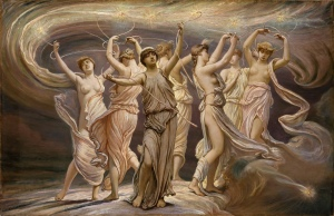 the dance of the pleiades by elihul vedder