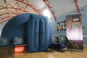 Planetarium at Concordia Hall, St Leonards-on-Sea, Sussex
