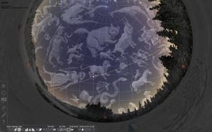 Stellarium in the dome