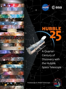 hubble 25 poster