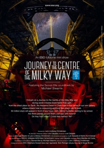 tourney to the centre of the milky way poster