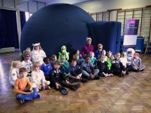 Space explorers at Monkwick Primary School