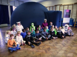 Space explorers at Monkwick Primary School