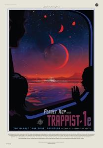 Trappist Travel Bureau poster