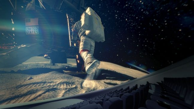Back To The Moon For Good planetarium film