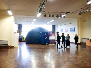 Planetarium at St Paul's Primary Academy, Hastings