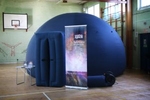 The planetarium at St Georges School, Gravesend, Kent