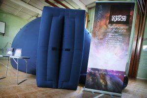 The planetarium at St Georges School, Gravesend, Kent