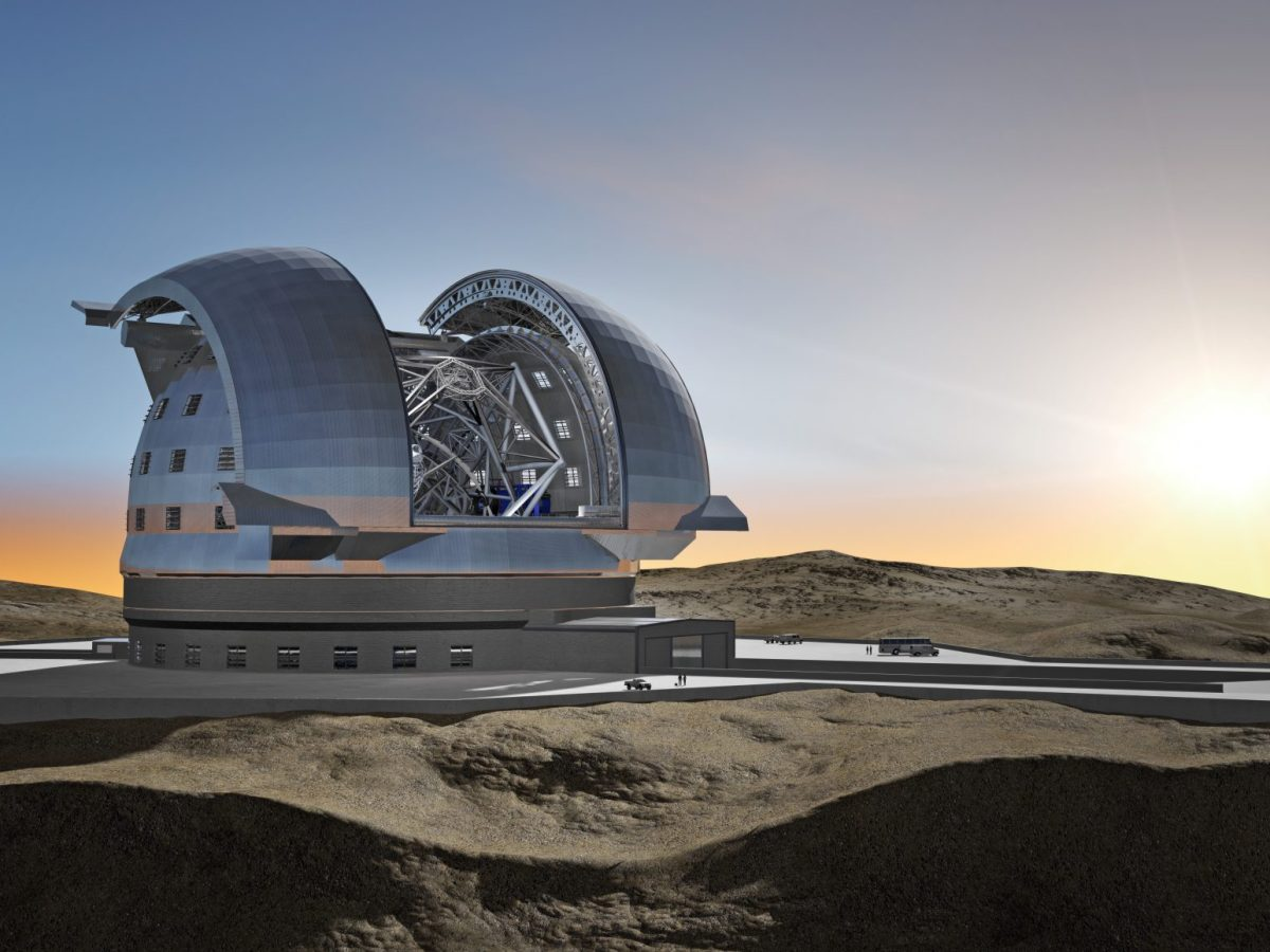 European Extremely Large Telescope in its Enclosure