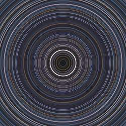 360-degree star trails