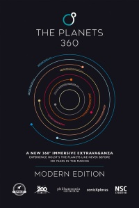 The Planets 360: Modern poster