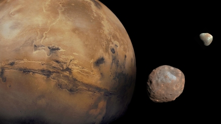 Mars and its moons