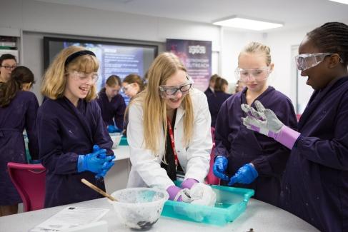 Comet Workshop at St Catherine's Prep School, Bramley