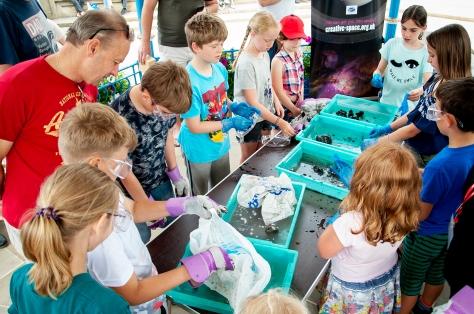 Comet making at Horsham STEMfest