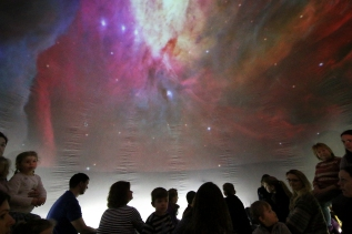 Half term space shows at Birling Gap Visitor Centre for the National Trust