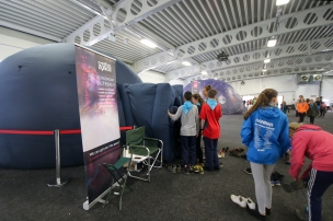 The planetarium at the Kent International Jamboree