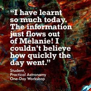 Quote from astronomy student
