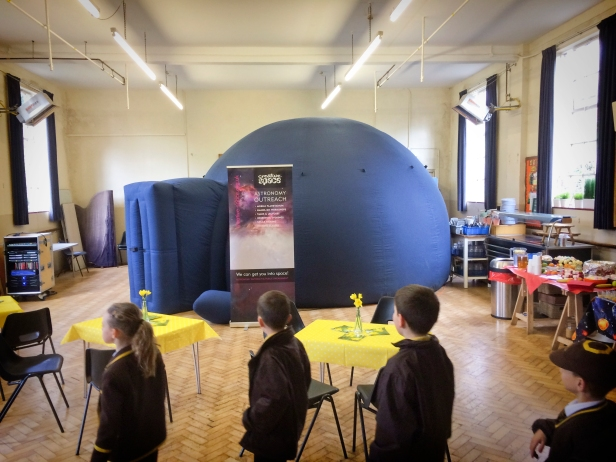 Easter Space Day at St David's College, West Wickham