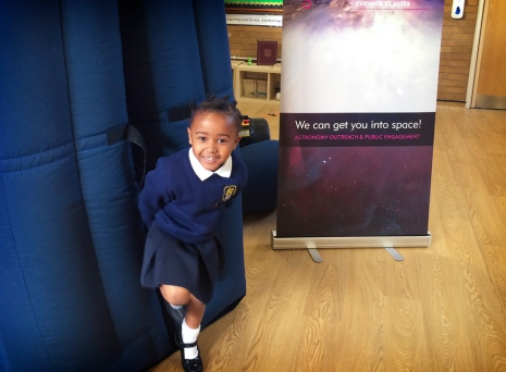 Planetarium shows for Reception Class at St Marks School, South Norwood