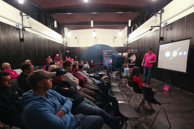 Public talk for Space@TheStade, Hastings