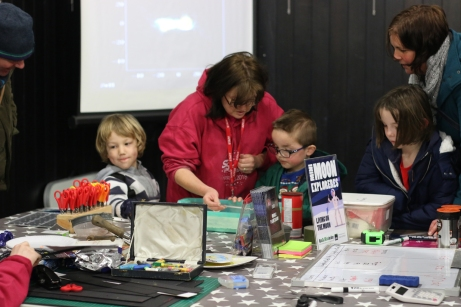 Mini Moon Explorers drop-in workshop