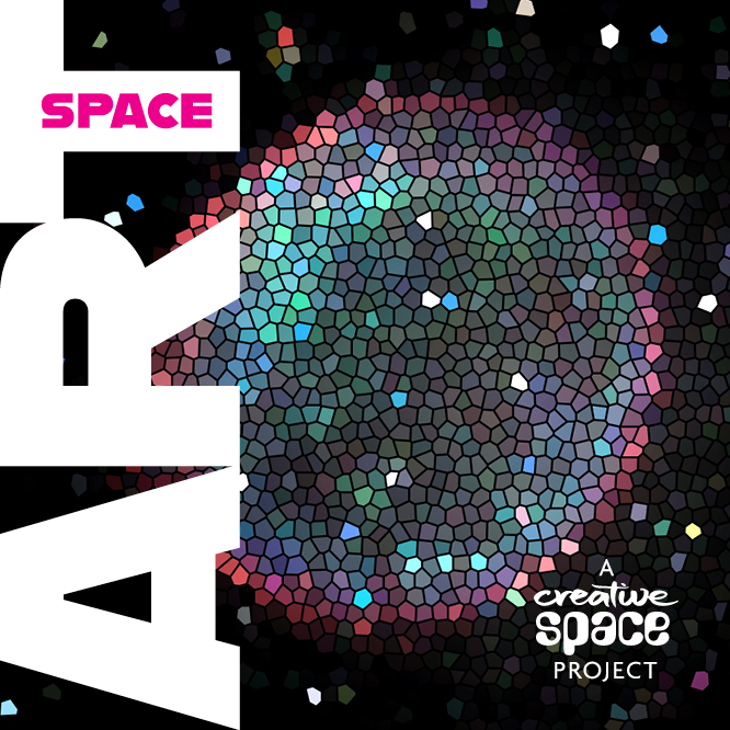 Promotion for the Space Art project by Creative Space
